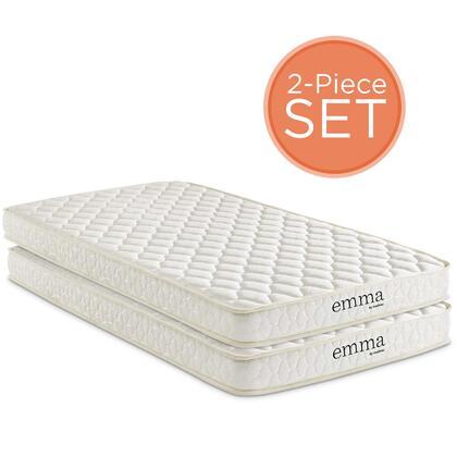 Emma Collection MOD-6099-WHI Set of 2 6