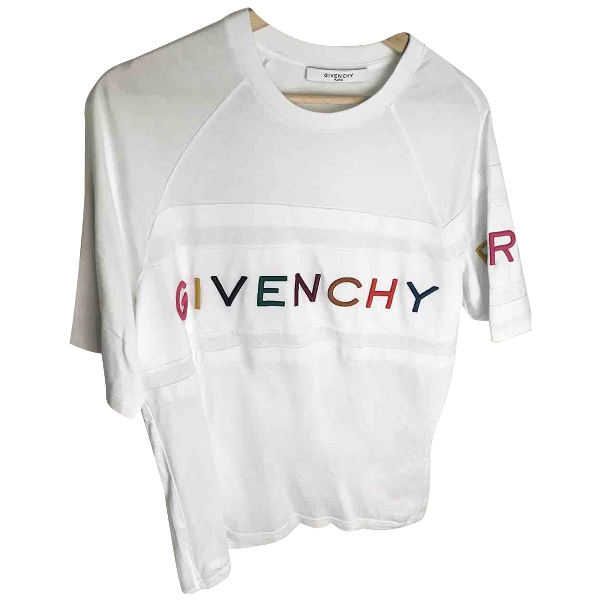 Givenchy \N White Cotton T-shirts for Men XS International