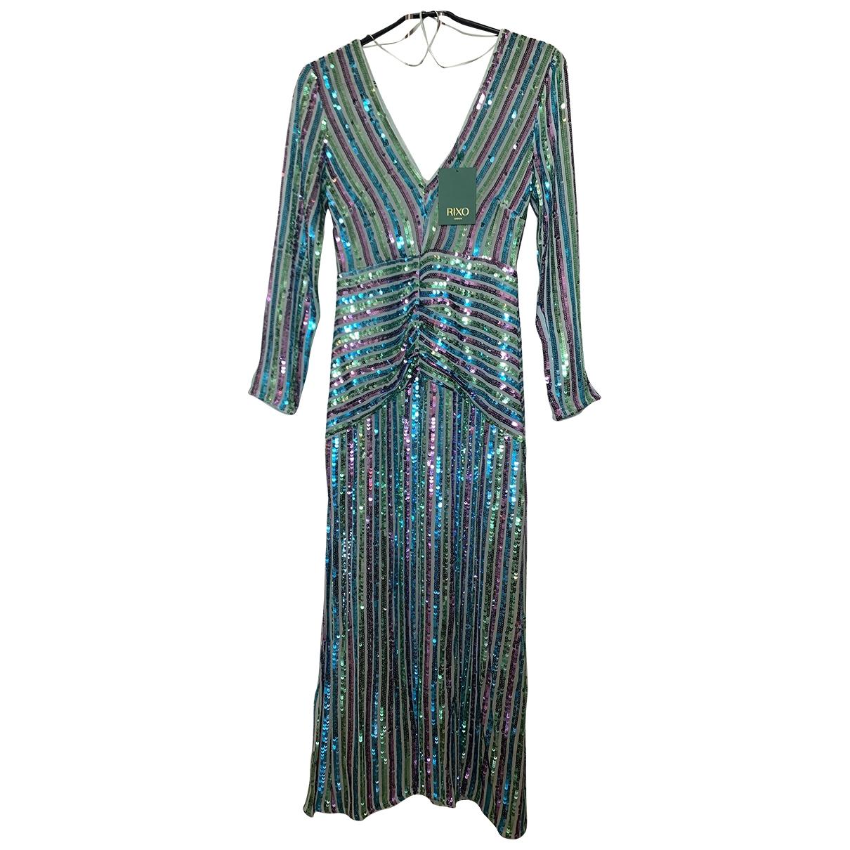 Rixo \N Kleid in  Gruen Polyester