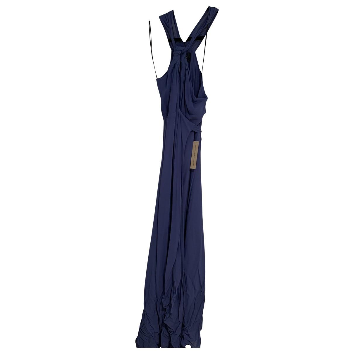 Reformation \N Kleid in  Blau Viskose