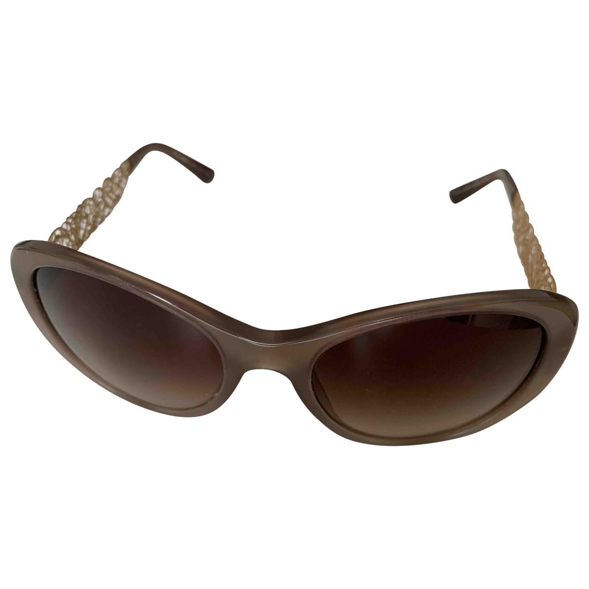 Dolce & Gabbana \N Sonnenbrillen in  Grau Kunststoff