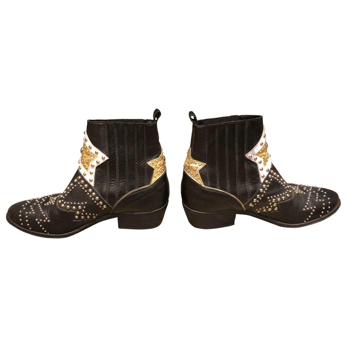 Elena Iachi - Boots   pour femme en cuir