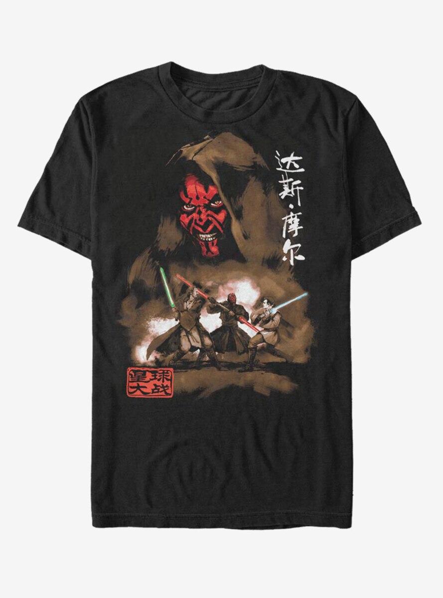 Star Wars Maul Battle T-Shirt