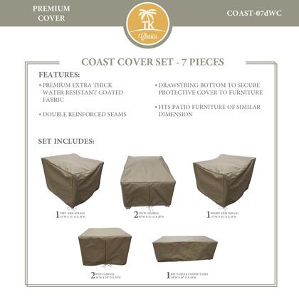 COAST-07dWC Protective Cover Set  for COAST-07d in