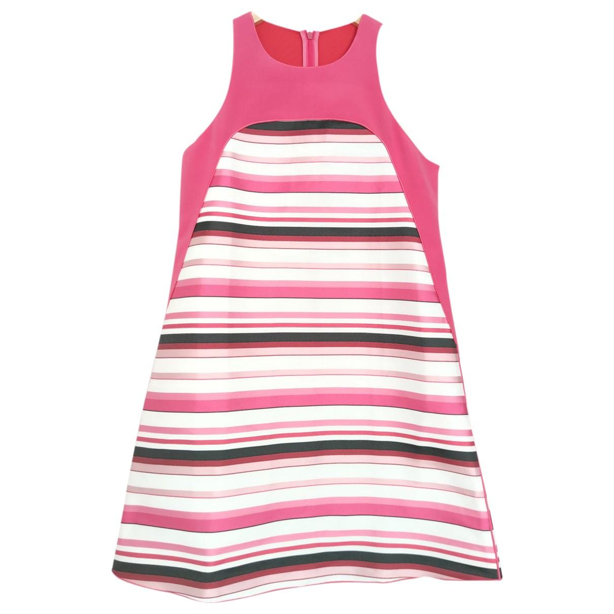 Longchamp \N Kleid in  Rosa Seide