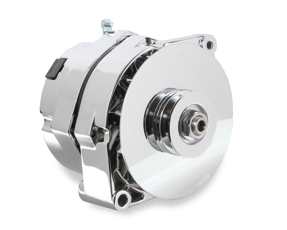 Mr. Gasket 1-Wire Alternator - 140 Amp - Chrome Finish