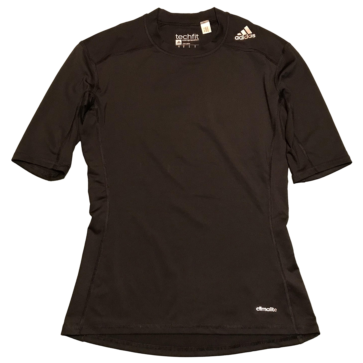 Adidas \N T-Shirts in  Schwarz Lycra