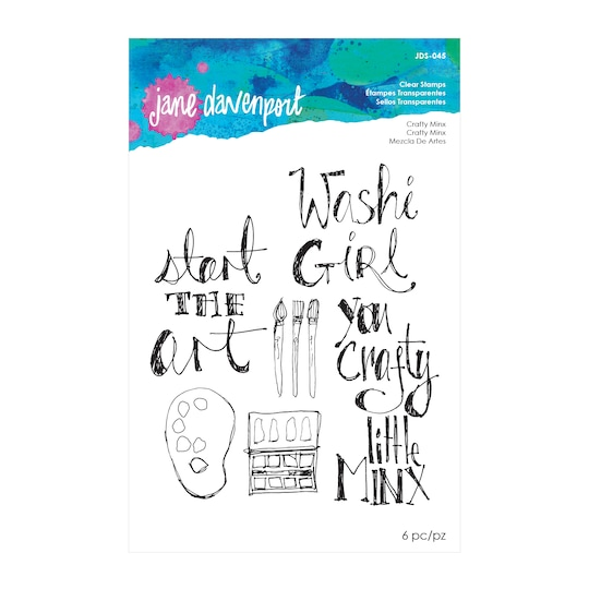 Jane Davenport Clear Stamps, Crafty Minx | Michaels®