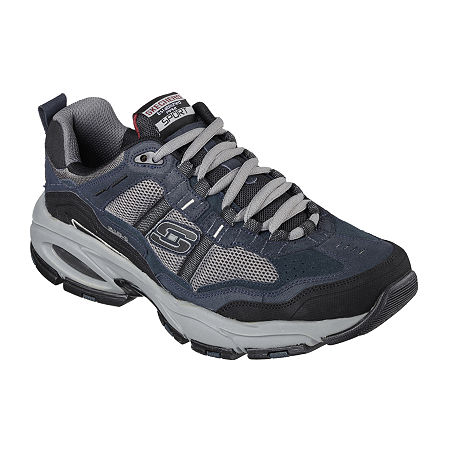 Skechers Trait Mens Athletic Shoes, 13 Extra Wide, Blue