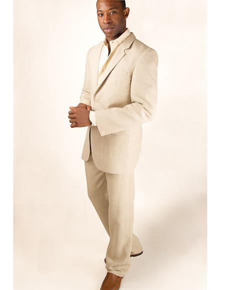 Mens Beach Wedding Attire Suit Menswear Beige 199