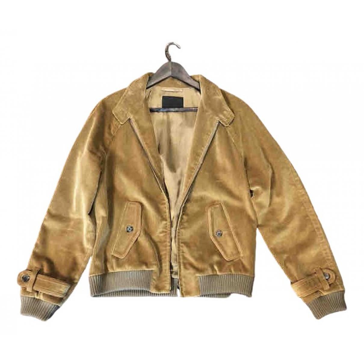 Prada \N Gold Velvet jacket  for Men 52 IT