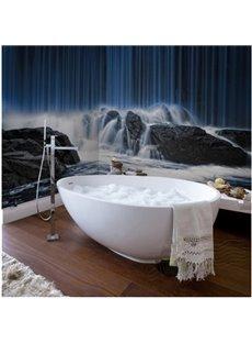 Natural Magnificent Waterfalls Scenery Waterproof 3D Bathroom Wall Murals