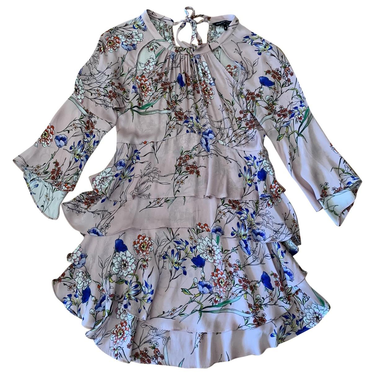 Marissa Webb \N Kleid in  Rosa Seide