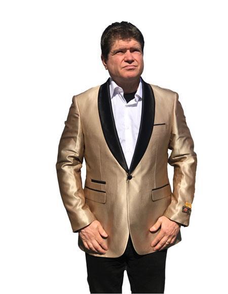 Alberto Nardoni Champagne Gold tuxedo DinnerJacket Blazer Sport Jacket