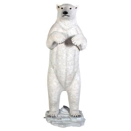 NE110036 Standing Prodigious Polar Bear Statue
