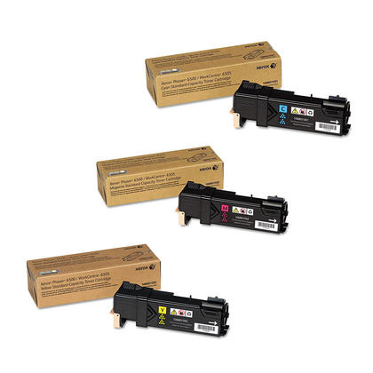 Xerox 106R01591 106R01592 106R01593 cartouche de toner haute capacité combo C/M/Y