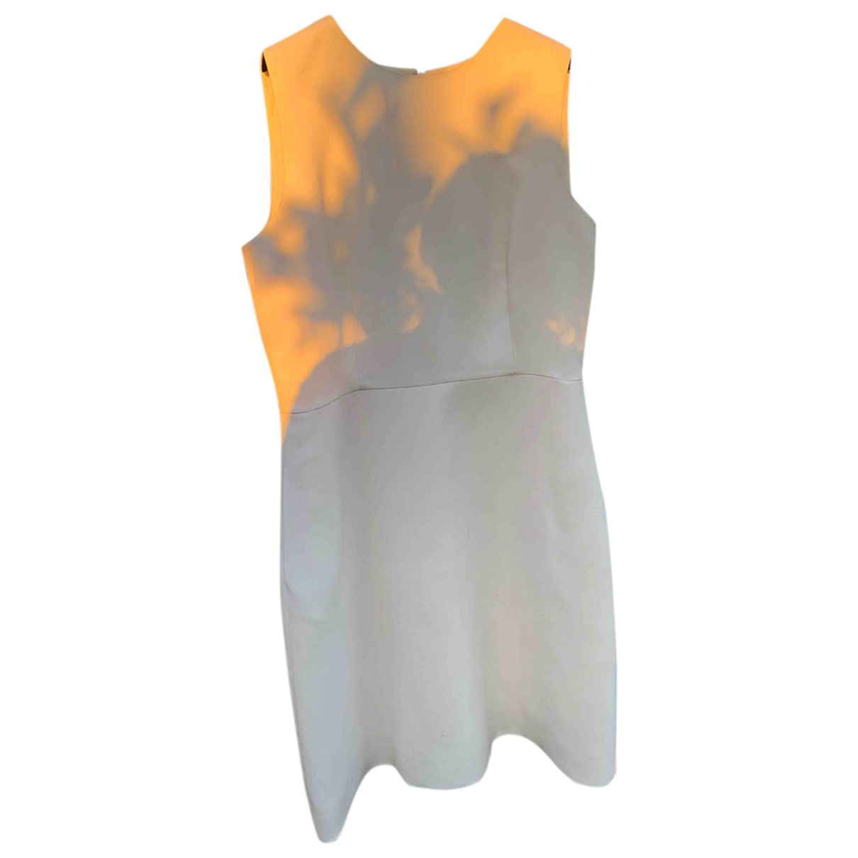 Valentino Garavani - Robe   pour femme en soie - ecru