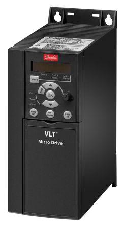 Danfoss Inverter Drive, 3-Phase In, 0 → 200 (VVC+ Mode) Hz, 0 → 400 (U/f Mode) Hz Out 3.7 kW, 230 V, 15.2