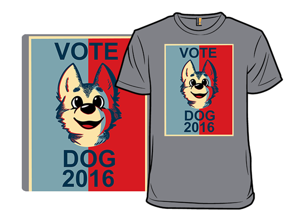 Vote Dog! T Shirt