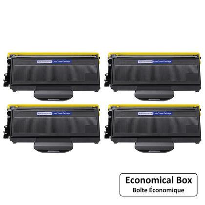 Compatible Brother TN360 cartouche de toner noire - boite economique - 4/Paquet