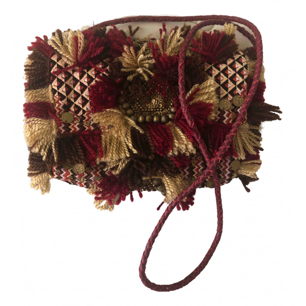 Antik Batik \N Clutch in  Bunt Wolle