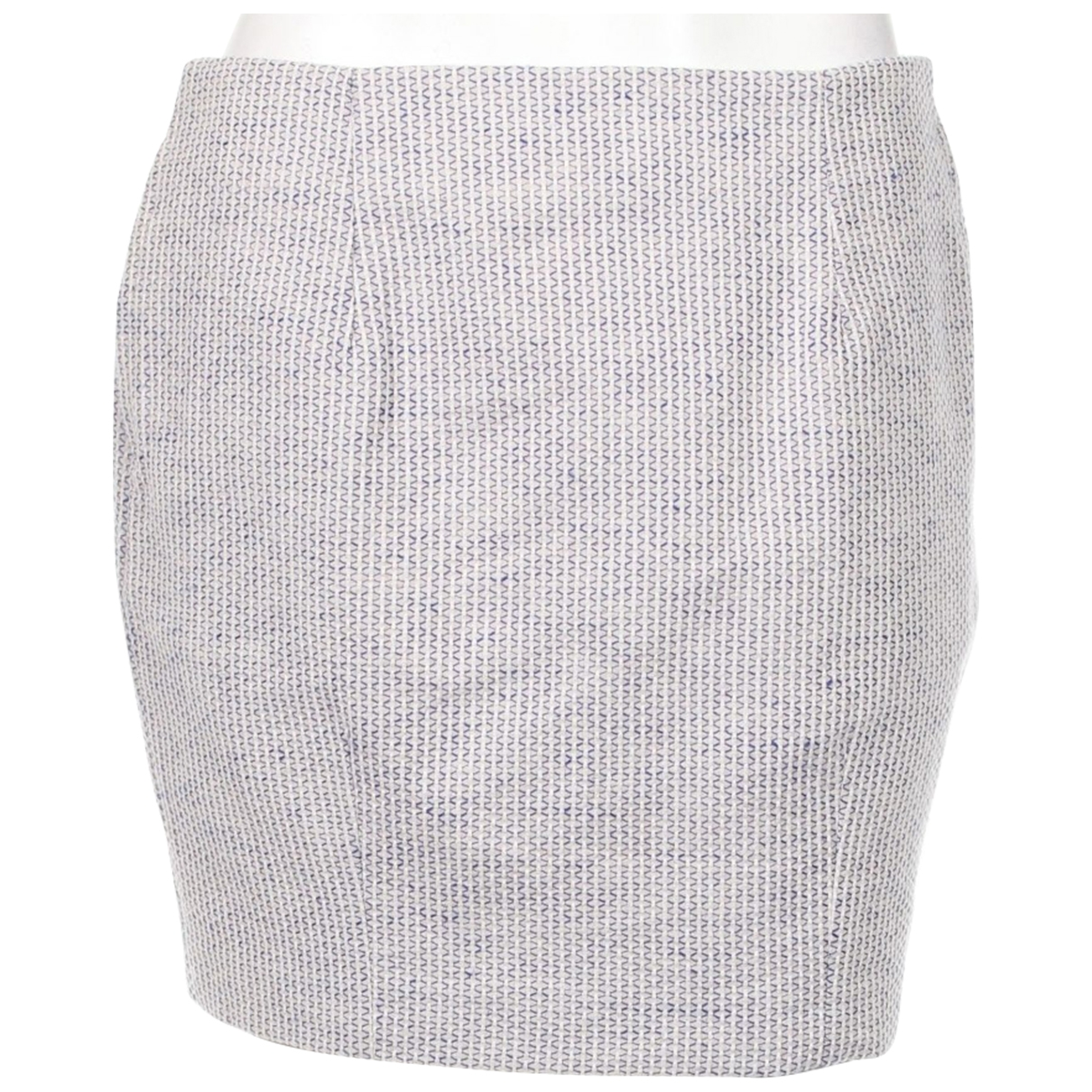 Momoni \N Blue Cotton skirt for Women 40 IT