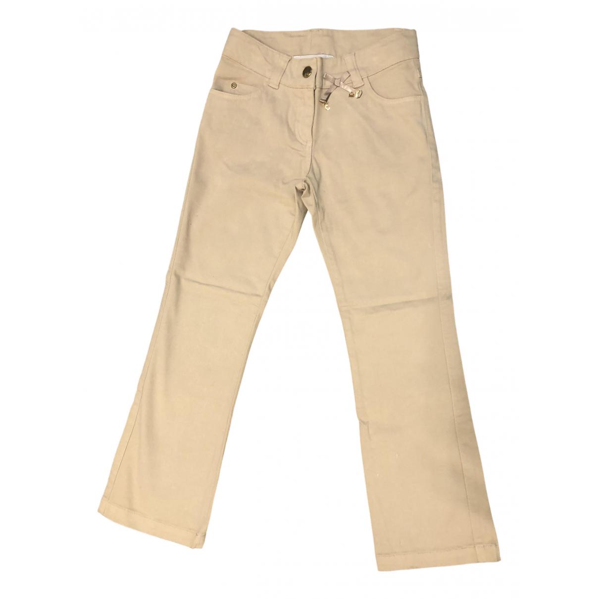 Dior - Pantalon   pour enfant en coton - beige