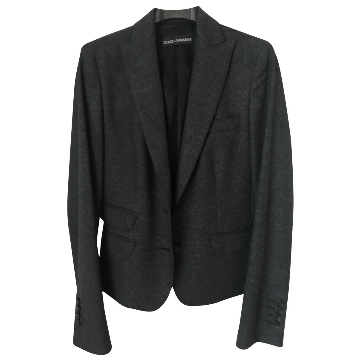 Dolce & Gabbana \N Grey jacket for Women 40 IT