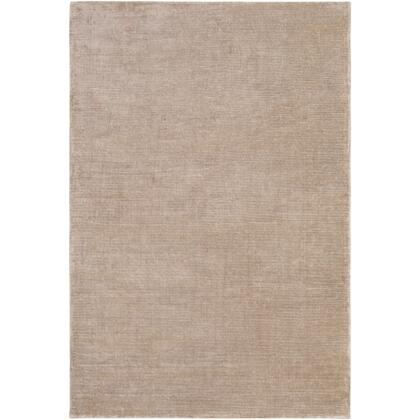 Aspen ANP-2302 6' x 9' Rectangle Modern Rug in Taupe