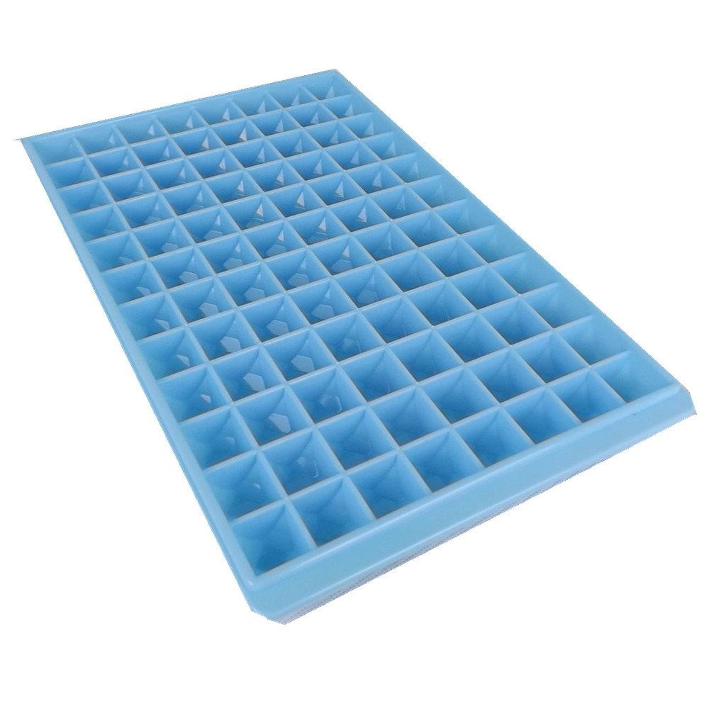 96 Holes Ice Tray Ice Cube Mold Jelly Ice Cub Box Mould