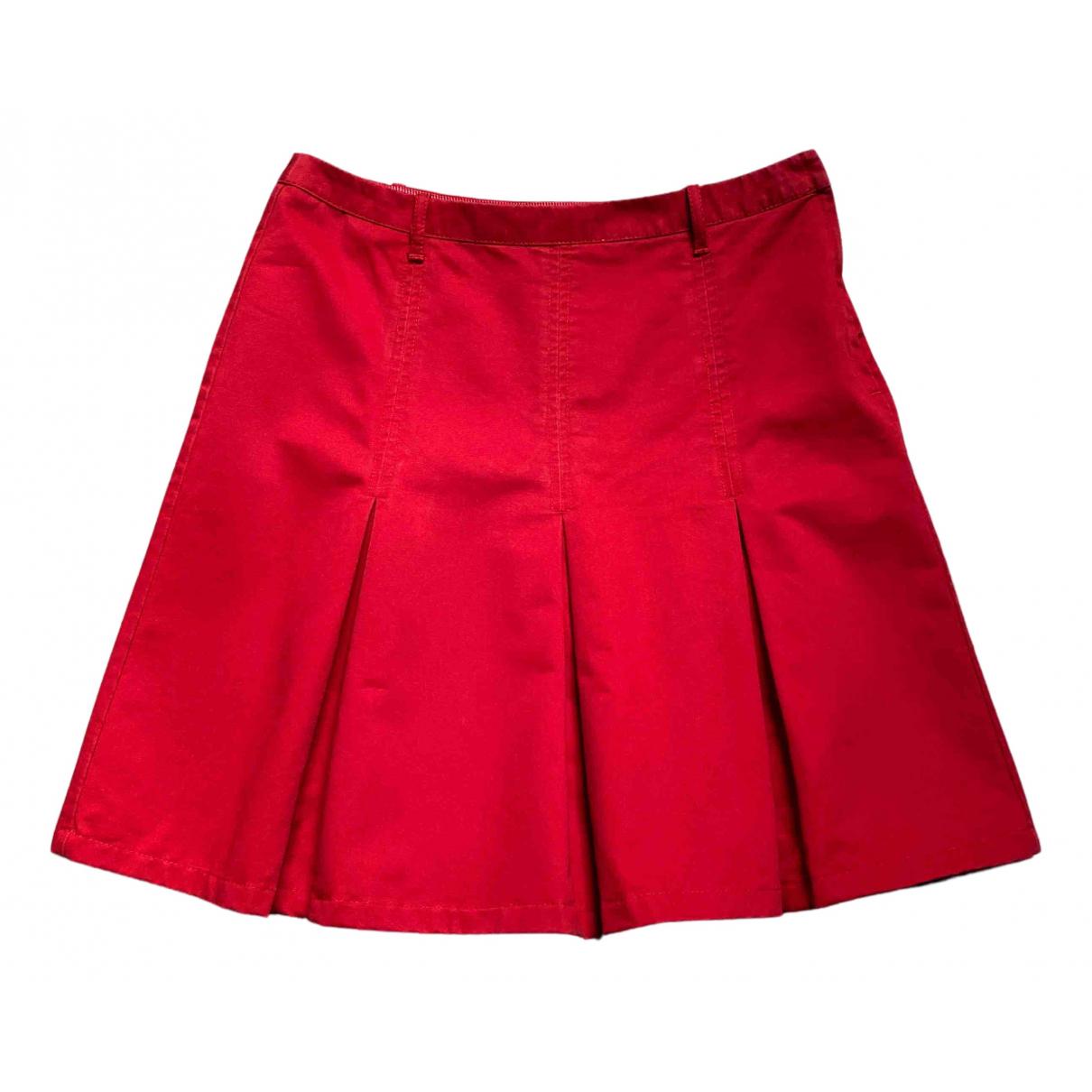 Esprit \N Rocke in  Rot Baumwolle