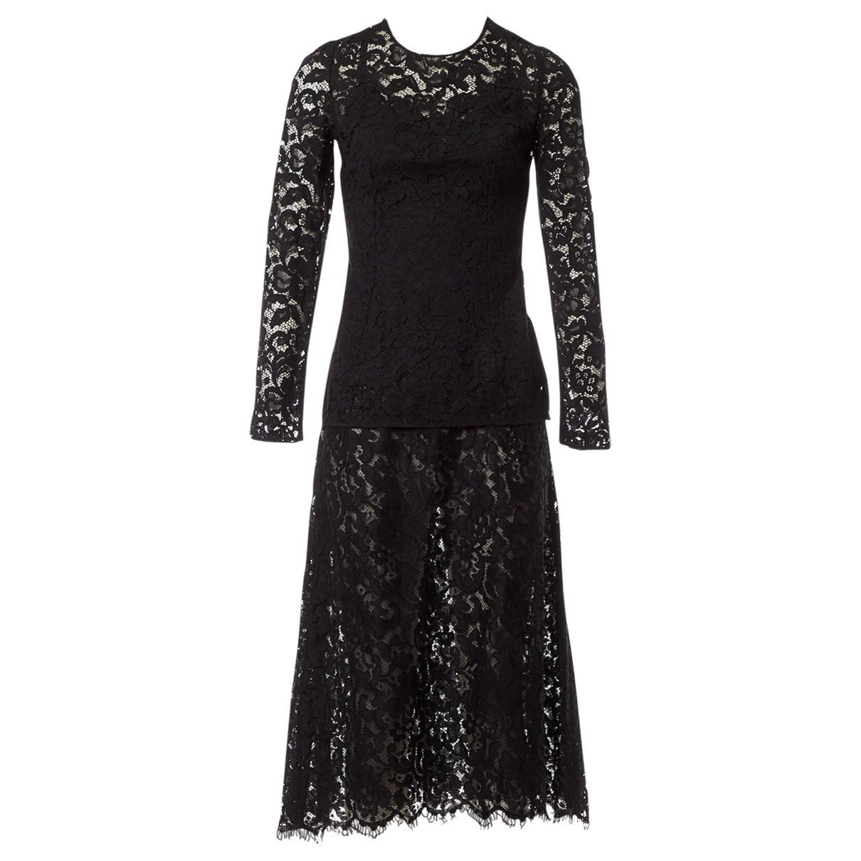 Dolce & Gabbana \N Rocke in  Schwarz Viskose