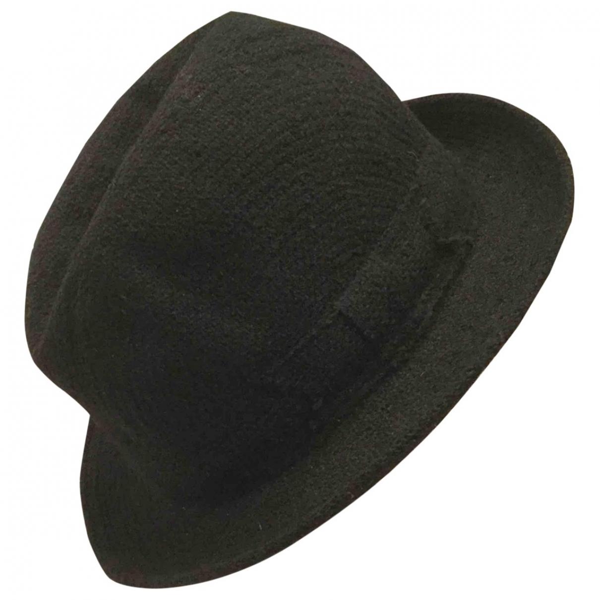 Lanvin - Chapeau   pour femme en laine - noir