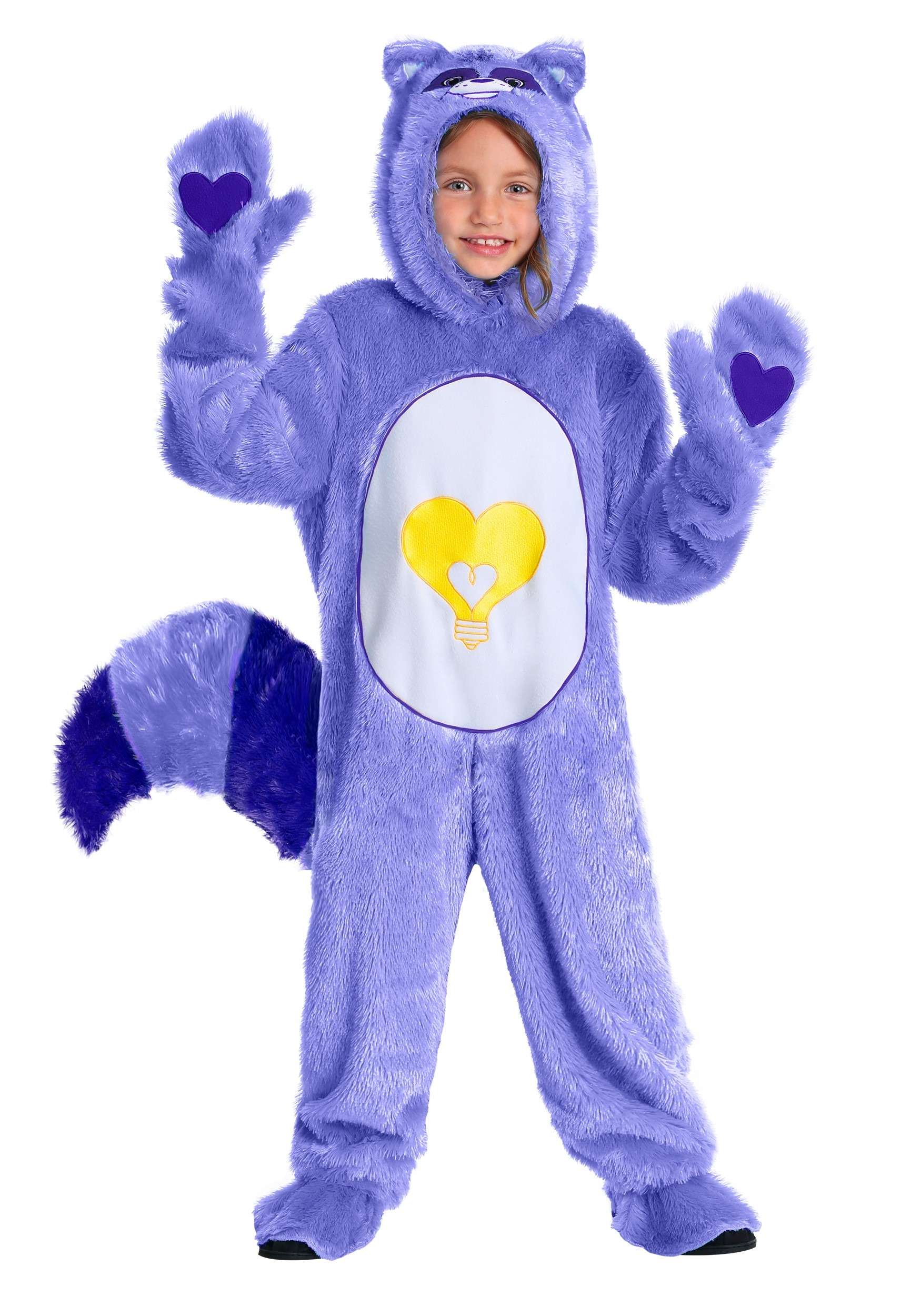 Toddler Bright Heart Raccoon Care Bears & Cousins Costume