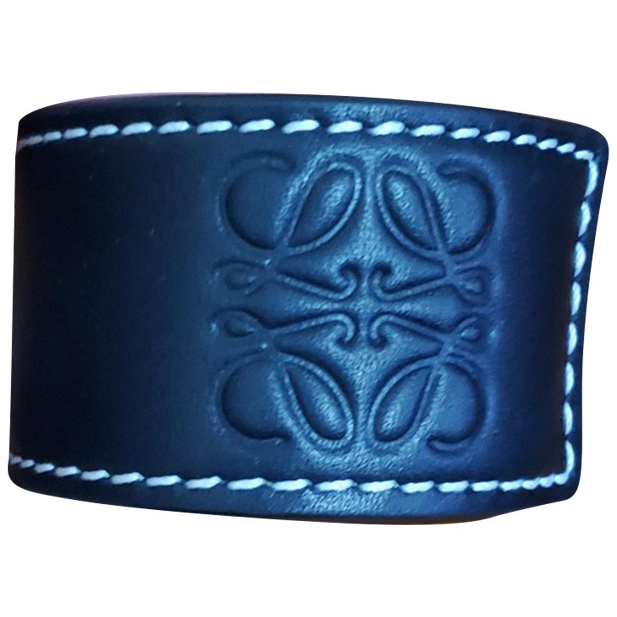 Loewe - Bijoux   pour homme en cuir - noir