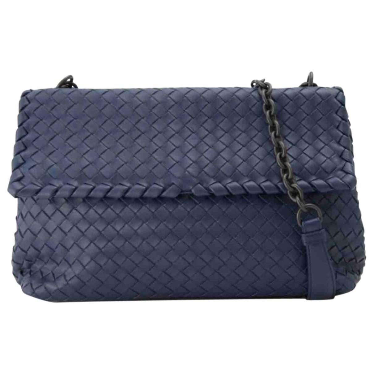 Bottega Veneta Olimpia Blue Leather handbag for Women \N