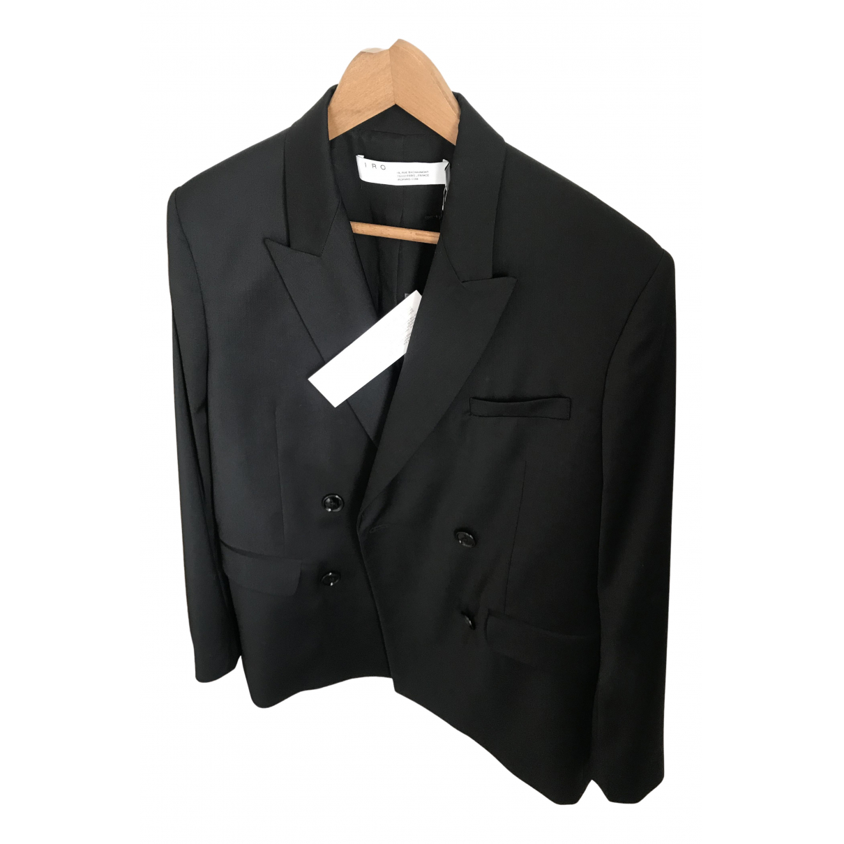 Iro - Veste Spring Summer 2020 pour femme en laine - noir