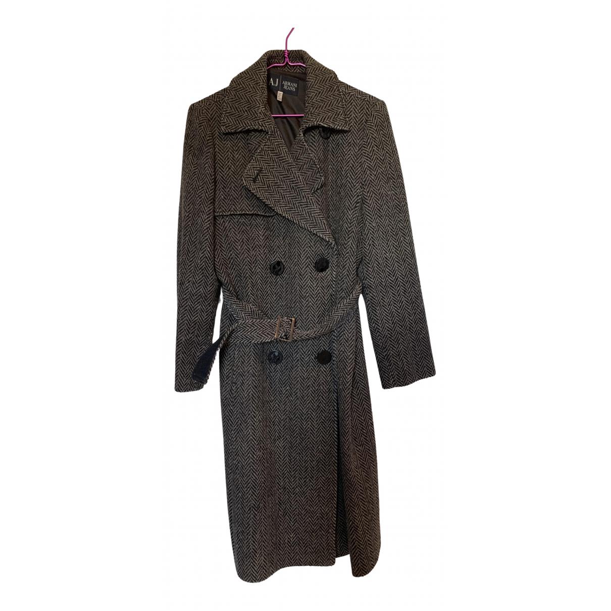 Armani Jeans \N Multicolour Wool coat for Women 4 US