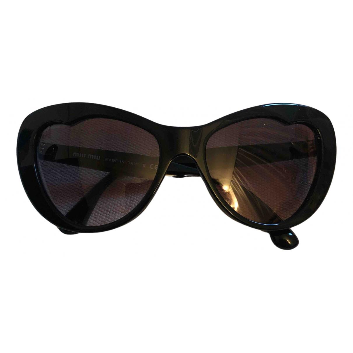 Miu Miu N Black Sunglasses for Women N