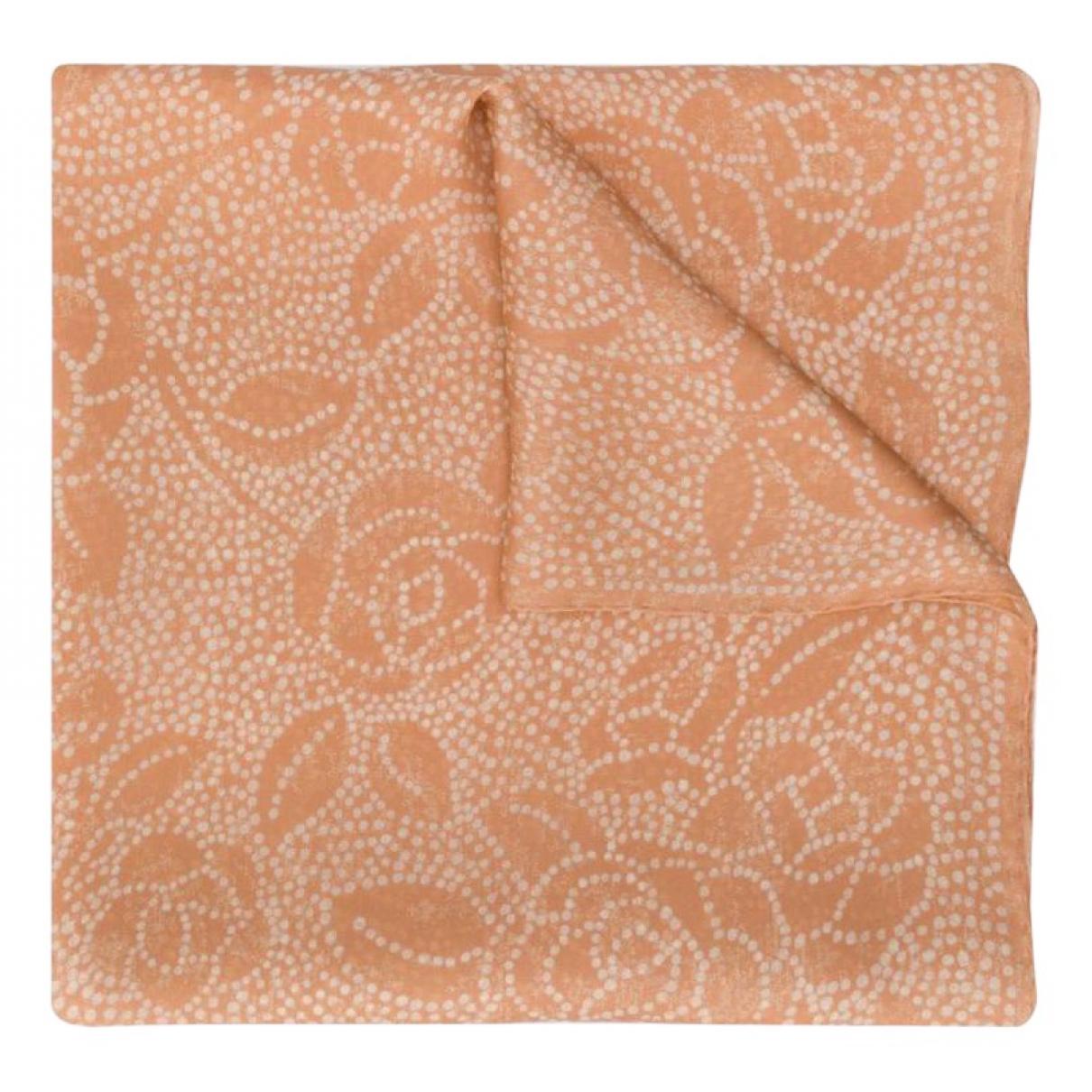 Chanel - Foulard   pour femme en soie - rose