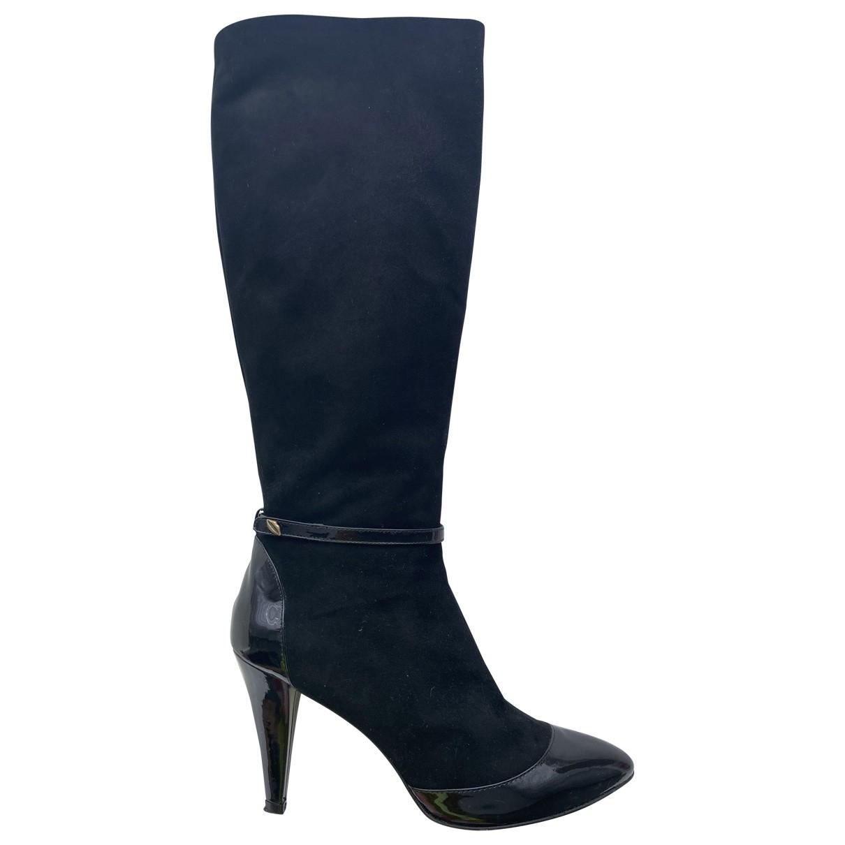 Lulu Guinness \N Stiefel in  Schwarz Leder
