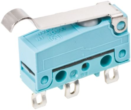 Panasonic SPDT Simulated Roller Lever Microswitch, 2 A @ 30 V dc