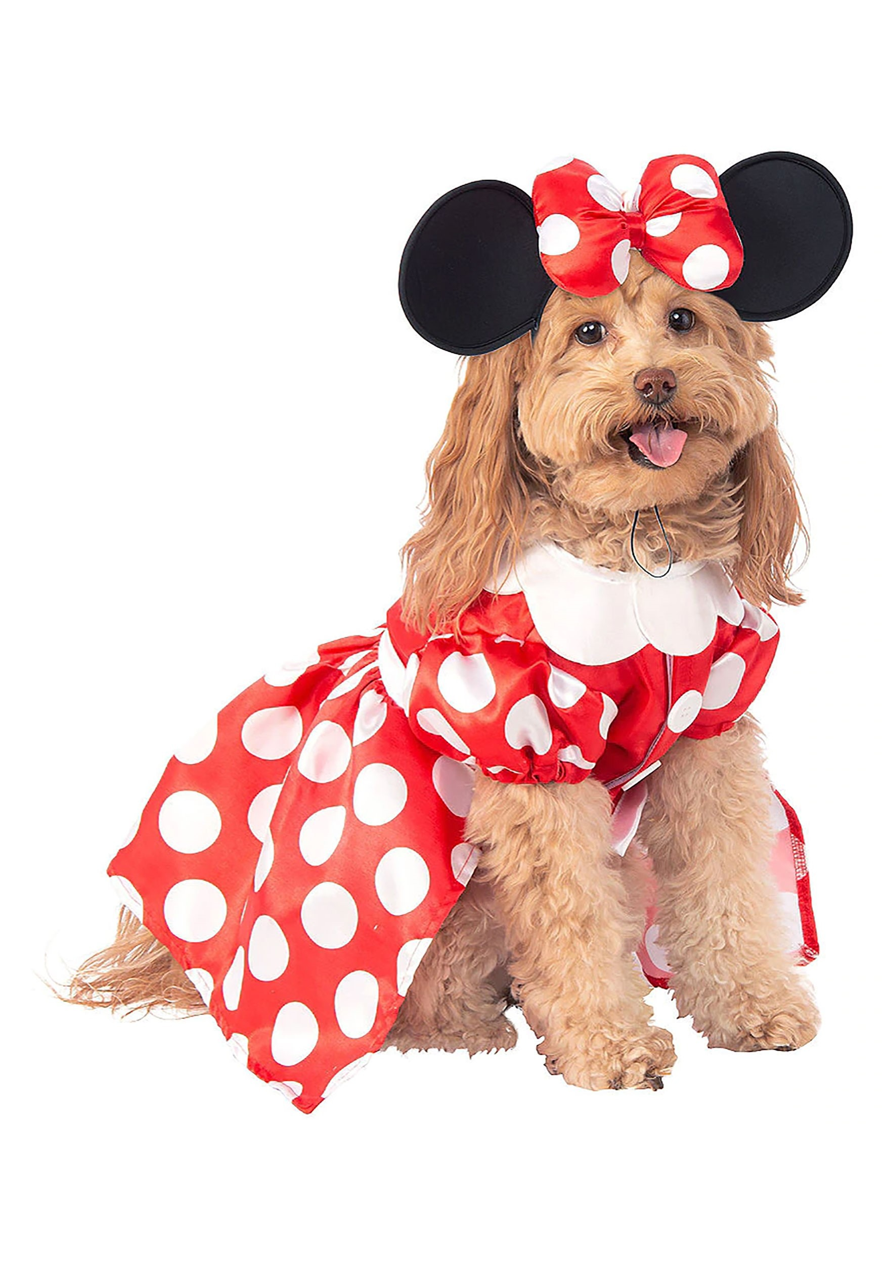 Disney Minnie Mouse Dog Costume | Mickey Mouse and Minnie Mouse Costumes