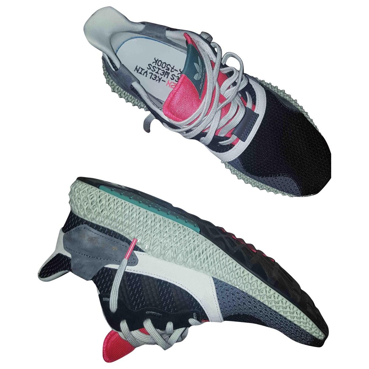Adidas - Baskets ZX pour homme en toile - noir