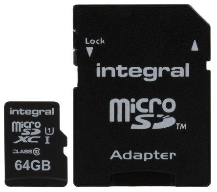 Integral Memory 64 GB MicroSDXC Card Class 10