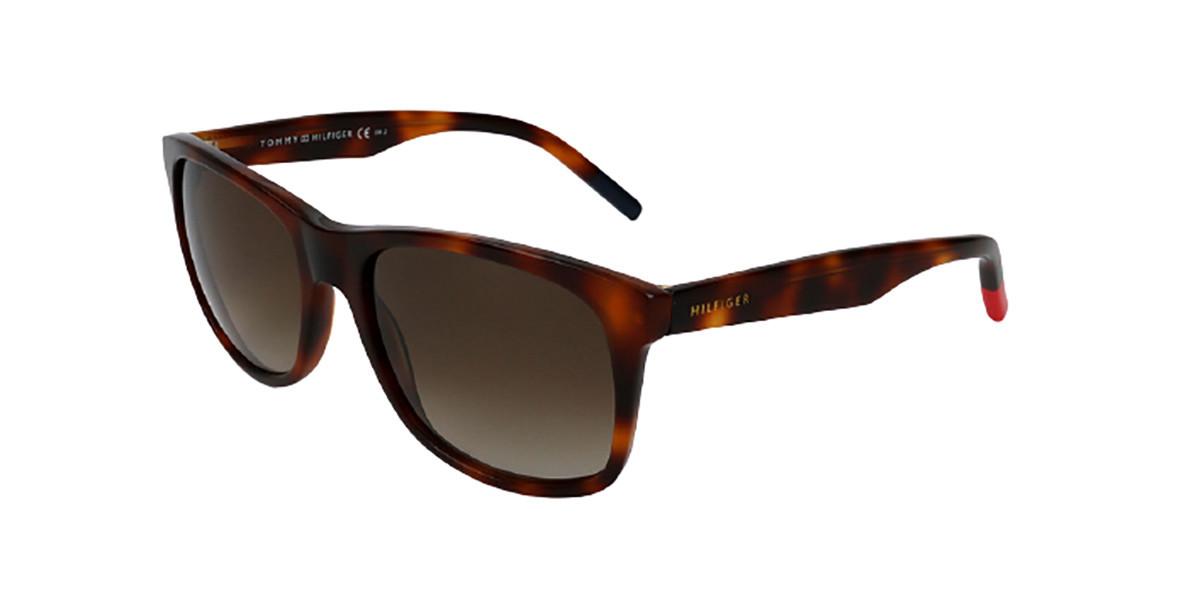 Tommy Hilfiger TH 1214/S 05L Men's Sunglasses Tortoise Size 55