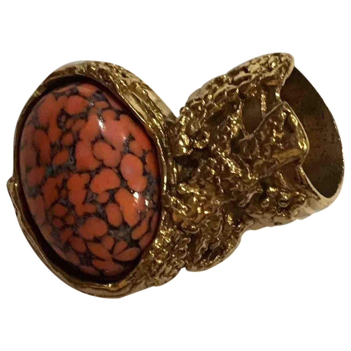 Yves Saint Laurent Arty Ring in  Gold Metall