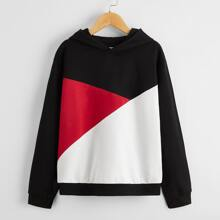 Boys Color Block Hoodie