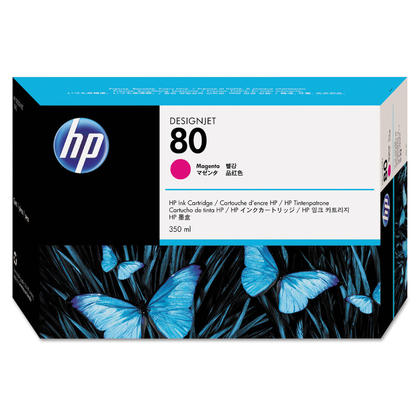 HP 80 C4847A cartouche d'encre originale magenta 350ml