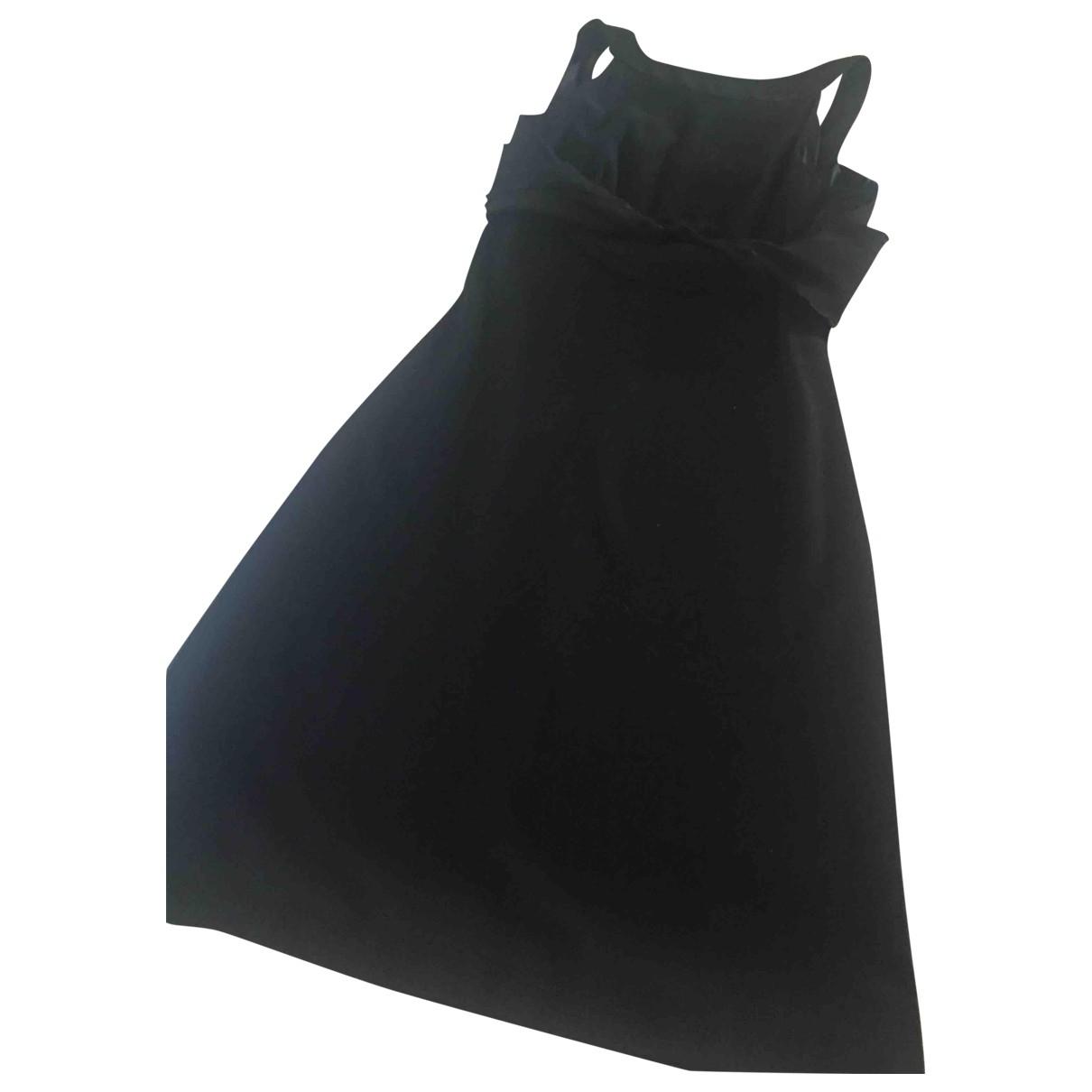 Gianfranco Ferre \N Kleid in  Schwarz Viskose